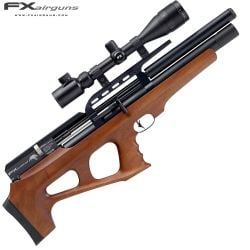 CARABINA PCP FX WILDCAT REGULADA WALNUT