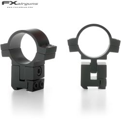 FX NO LIMIT Two-Piece Mount 30mm 9-11mm ADJUSTABLE ELEVATION