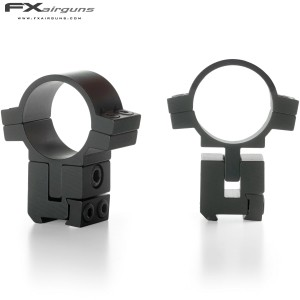 FX MONTURAS NO LIMIT 2PC 30mm 9-11mm ALTURA AJUSTABLE