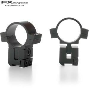 FX NO LIMIT Two-Piece Mount 30mm 9-11mm ADJUSTABLE ELEVATION