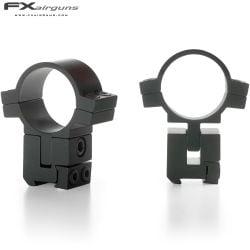 """FX MONTURAS NO LIMIT 2PC 1"""" 9-11mm ALTURA AJUSTABLE"""