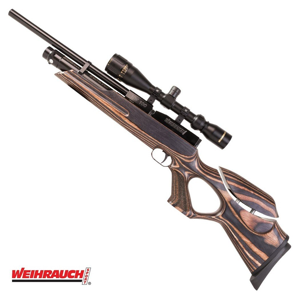 AIR RIFLE WEIHRAUCH HW100 T FSB LAMINATED|PCP Air Rifles ...