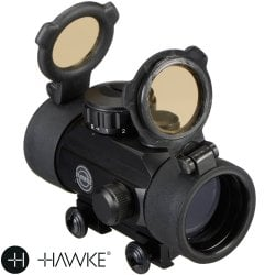 VISOR HAWKE RED DOT 30mm (9-11mm)