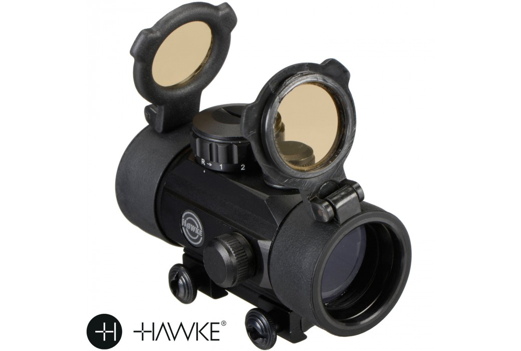 POINTEUR LASER HAWKE RED DOT 30mm (9-11mm)
