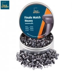 MUNITIONS H & N FINALE MATCH HEAVY 4.50mm (.177) 500PCS