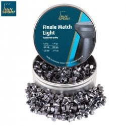 Air gun pellets H & N FINALE MATCH LIGHT 4.49mm (.177) 500PCS