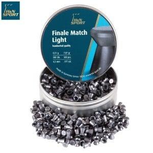 Air gun pellets H & N FINALE MATCH LIGHT 4.49mm (.177) 500PCS