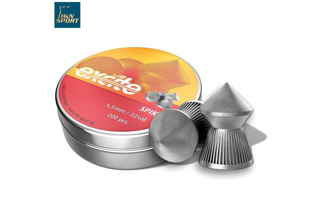 BALINES H & N EXCITE SPIKE 5.50mm (.22) 200PCS
