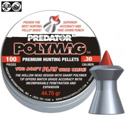 Air gun pellets JSB POLYMAG 7.62mm (.30) 100pcs