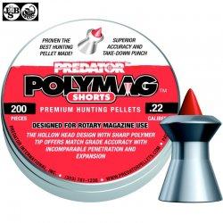 Air gun pellets JSB POLYMAG SHORTS 200pcs 5.50mm (.22)