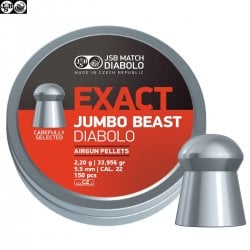 MUNITIONS JSB EXACT BEAST ORIGINAL 150pcs 5.52mm (.22)
