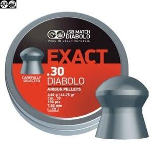 CHUMBO JSB EXACT ORIGINAL 44.75gr 150pcs 7.62mm (.30)