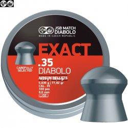BALINES JSB EXACT ORIGINAL 81.02gr 100pcs 9.0mm (.35)