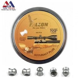 Air gun pellets AIR ARMS FALCON ACCURACY PLUS 500pcs 5.52mm (.22)