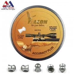 Air gun pellets AIR ARMS FALCON ACCURACY PLUS 500pcs 4.52mm (.177)
