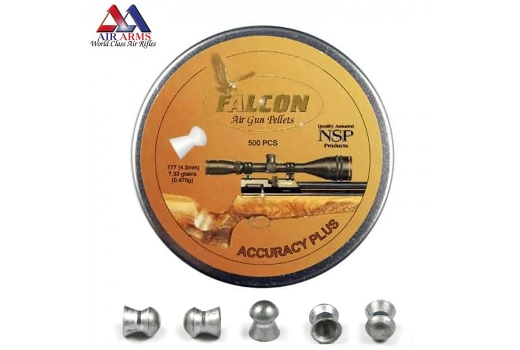 CHUMBO AIR ARMS FALCON ACCURACY PLUS 500pcs 4.52mm (.177)