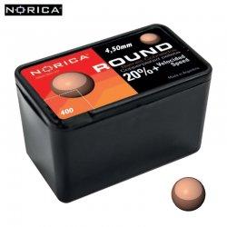 BALINES NORICA ROUND 4.50mm (.177) 400PCS