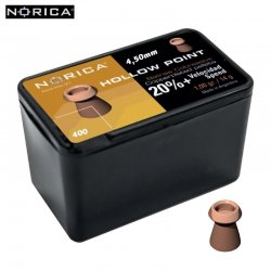 BALINES NORICA HOLLOW POINT 4.50mm (.177) 400PCS