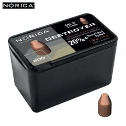 Air gun pellets NORICA DESTROYER 5.50mm (.22) 150PCS