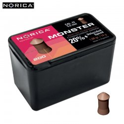 Air gun pellets NORICA MONSTER 5.50mm (.22) 150PCS