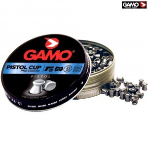BALINES GAMO PISTOL CUP 250pcs 4.50mm (.177)