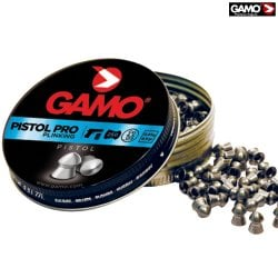 MUNITIONS GAMO PISTOL PRO 250pcs 4.50mm (.177)