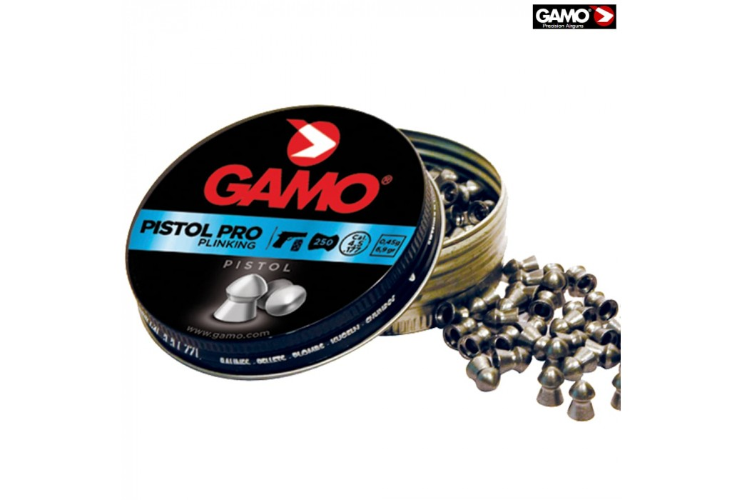 Air gun pellets GAMO PISTOL PRO 250pcs 4.50mm (.177)