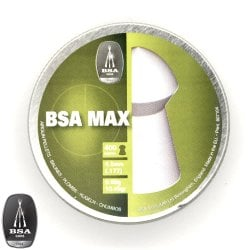 Air gun pellets BSA MAX 400pcs 4.50mm (.177)