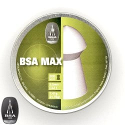 Air gun pellets BSA MAX 200pcs 5.50mm (.22)