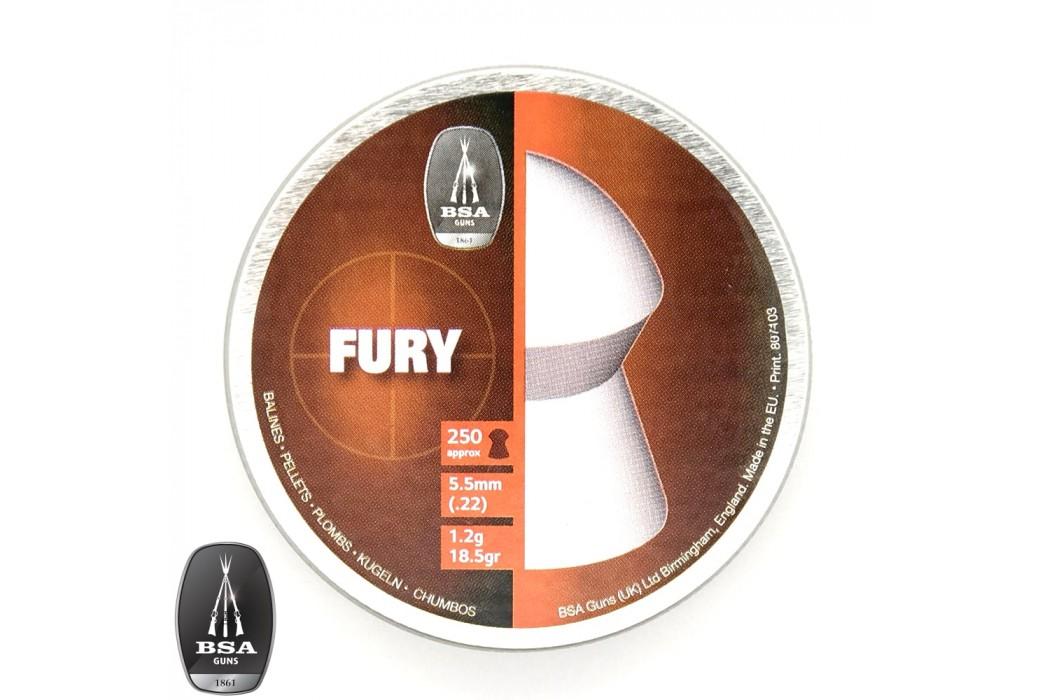 CHUMBO BSA FURY 250pcs 5.50mm (.22)
