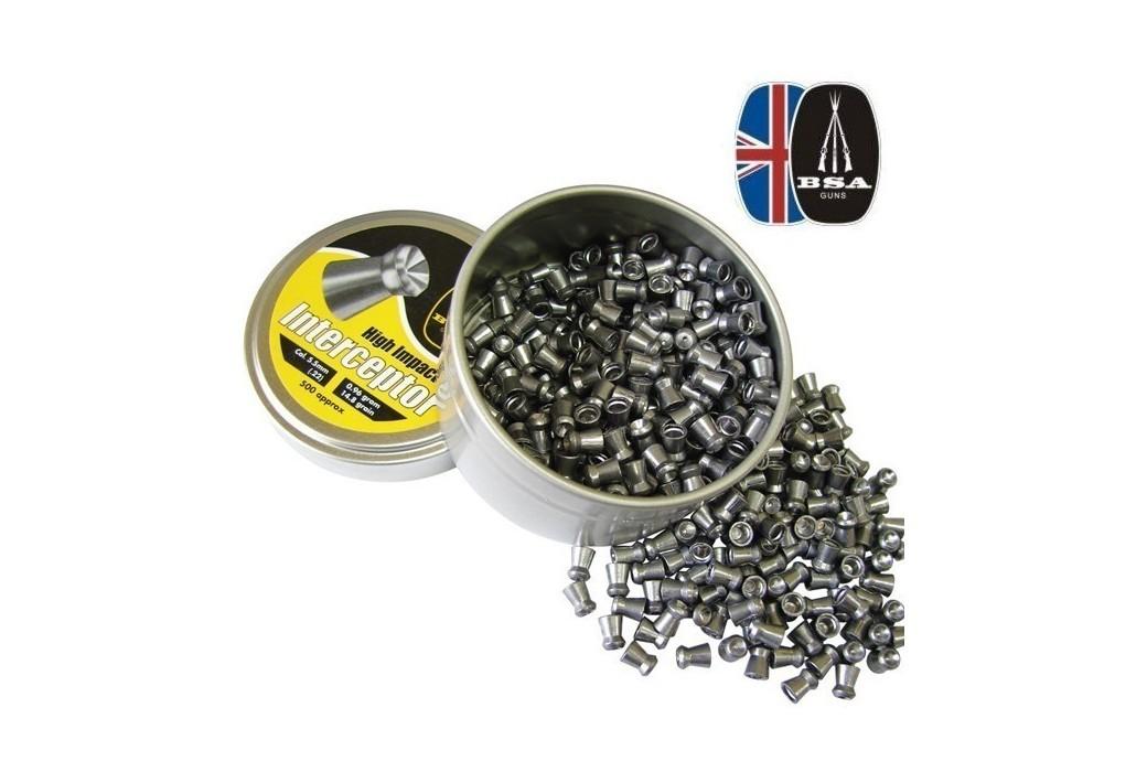 BSA INTERCEPTOR 500 Pcs 5,5mm (.22)