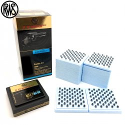 MUNITIONS RWS R10 MATCH PLUS PISTOLET 4.50mm (.177) 1000PCS