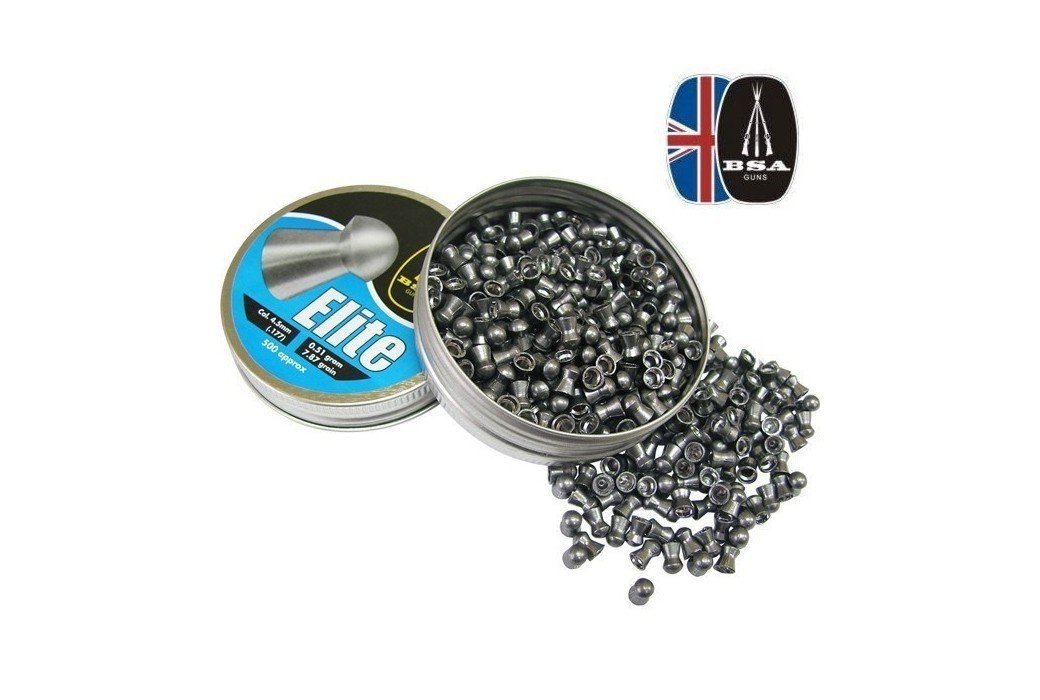 BSA ELITE 500 Pcs 4,5mm (.177)