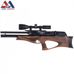 CARABINA AIR ARMS GALAHAD WALNUT REGULADA