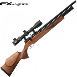 CARABINA PCP FX STREAMLINE WALNUT REGULADA