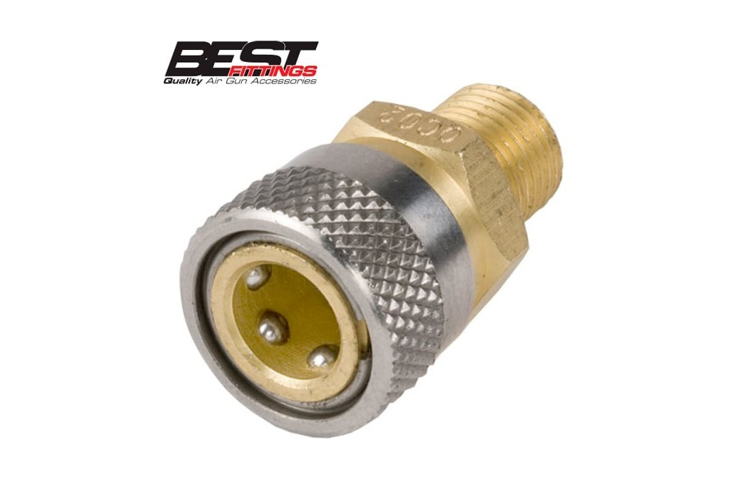 "FOSTER QUICK COUPLER SOCKET QC02 1/8"" BSP"