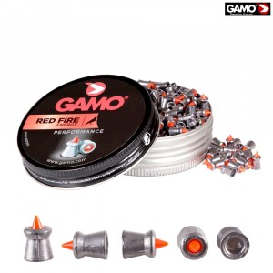 CHUMBO GAMO RED FIRE 100pcs 5.5mm (.22)