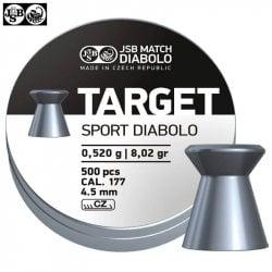 CHUMBO JSB TARGET SPORT DIABOLO 500pcs 4.50mm (.177)