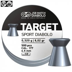 MUNITIONS JSB TARGET SPORT DIABOLO 500pcs 4.50mm (.177)