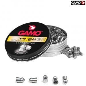 Air gun pellets Gamo TS-10 400 Pcs 4.5mm (.177)