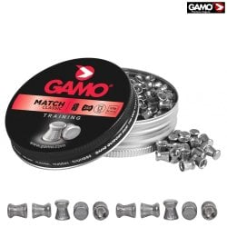 Air gun pellets Gamo Match 250 Pcs 5,5mm (.22)