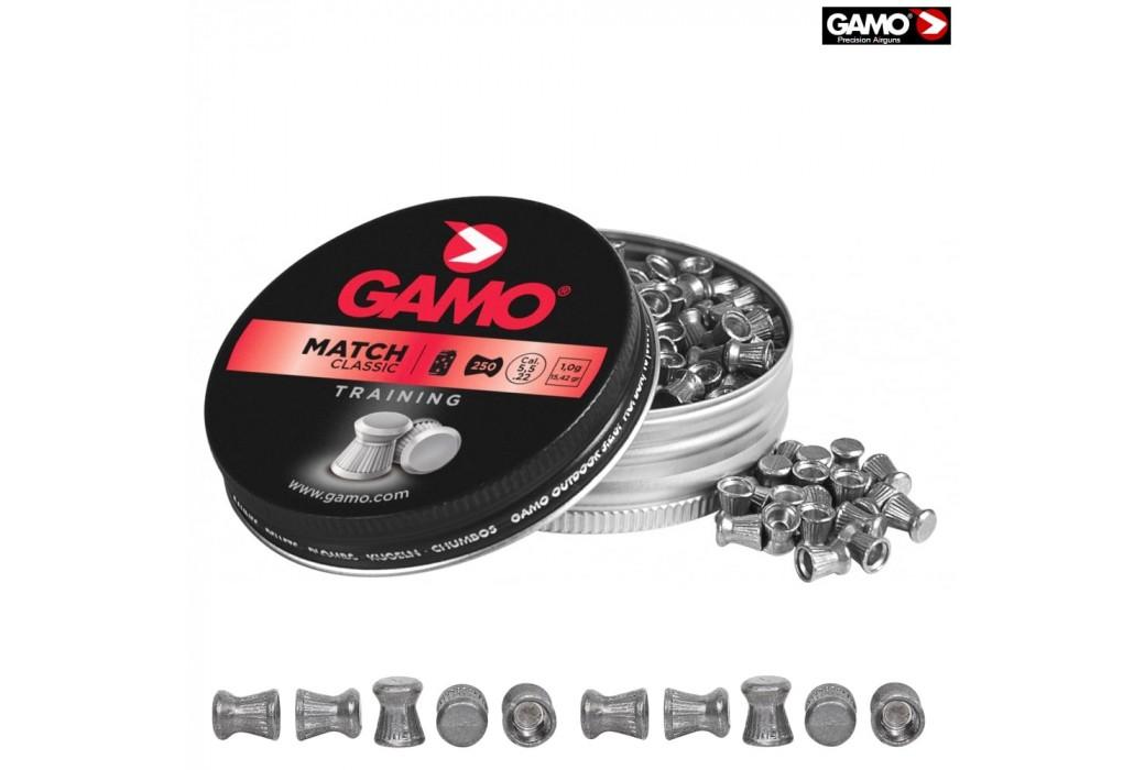 Air gun pellets Gamo Match 250 Pcs 5,5mm (.22)