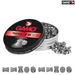 Air gun pellets Gamo Match 500 Pcs 4,5mm (.177)