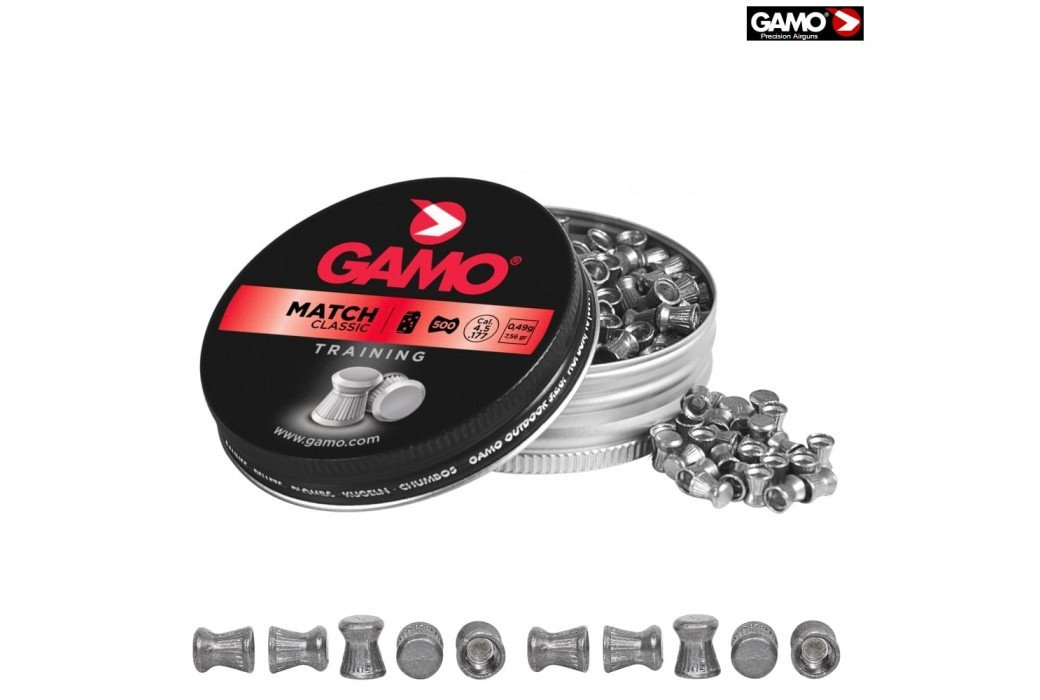 BALINES Gamo Match 500 Pcs 4,5mm (.177)