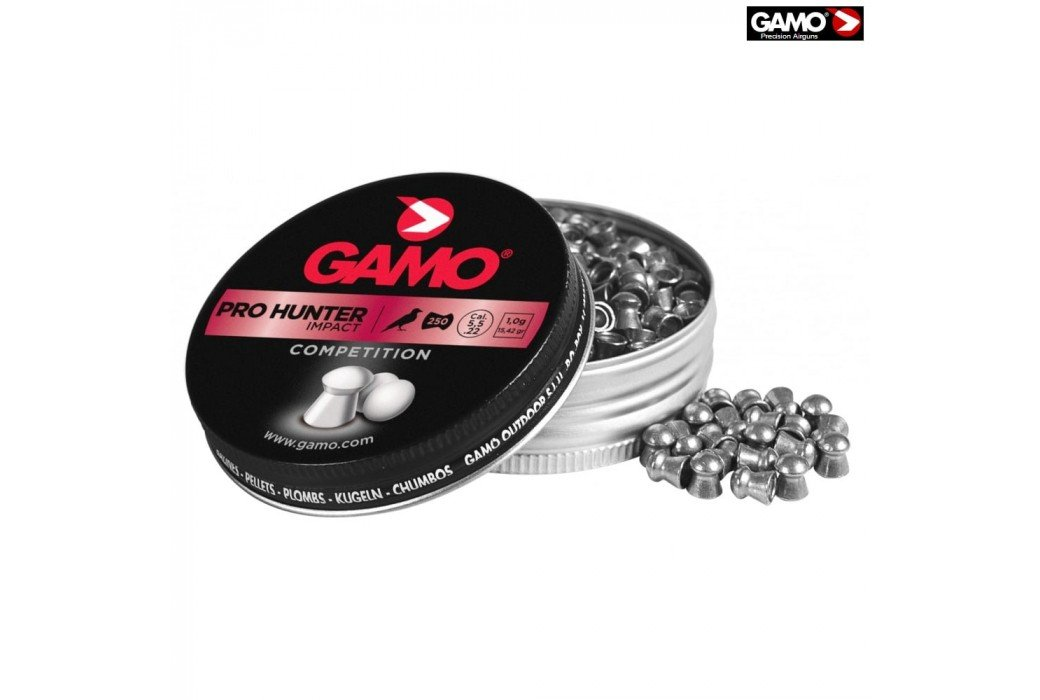 Air gun pellets Gamo PRO Hunter 250 Pcs 5.5mm (.22)