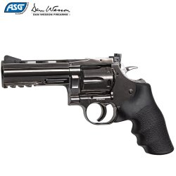 "REVÓLVER ASG DAN WESSON 715 4"" STEEL GREY"