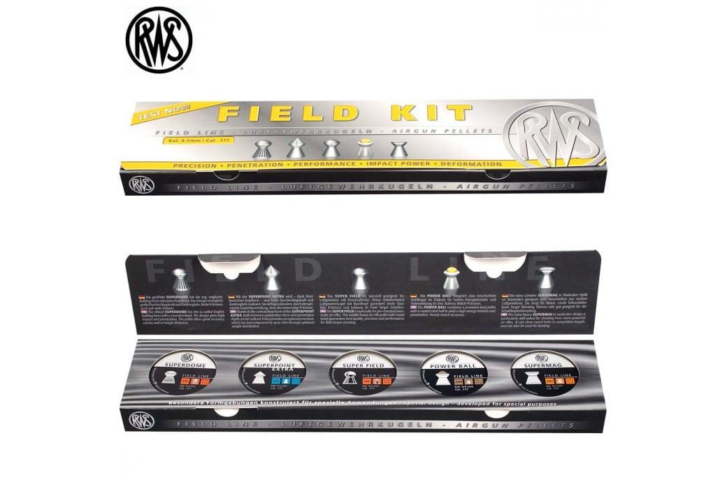 MUNITIONS RWS FIELD KIT 4.50mm (.177) 1000PCS