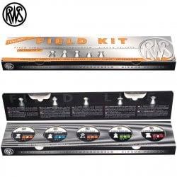 MUNITIONS RWS FIELD KIT 5.50mm (.22) 500PCS