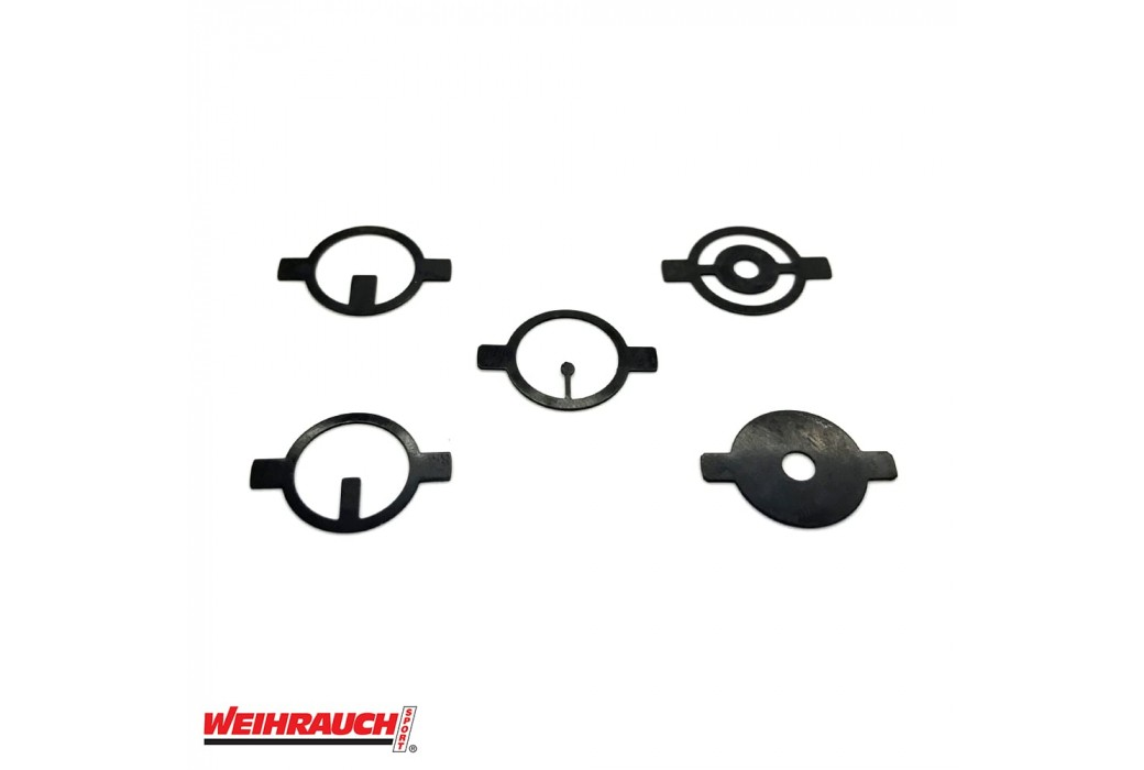 WEIHRAUCH SET OF 5 FRONT SIGHT INSERTS