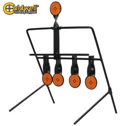 CALDWELL AIRGUN SHOOTING RESETTING TARGET